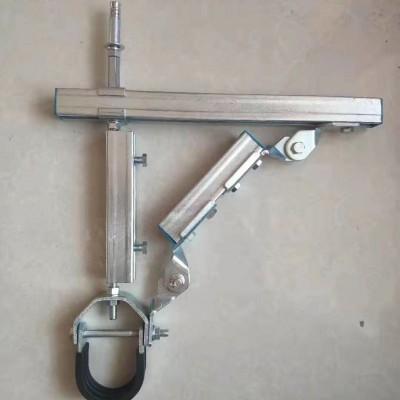 单水管侧向消防管道抗震支吊架