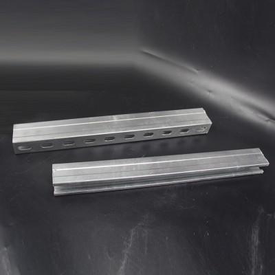 抗震支架C型钢热镀锌带齿C型钢现货供应