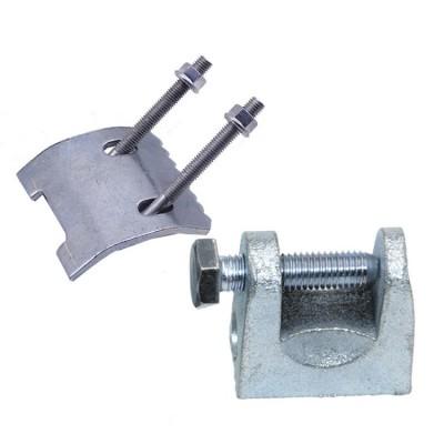 厂家直销抗震支架专用钢结构梁夹带齿梁夹