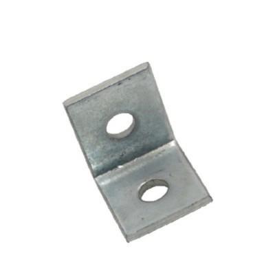 厂家直销抗震支架专用L型角码2孔角码
