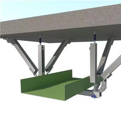 桥架侧向抗震支架 桥架双向抗震支架